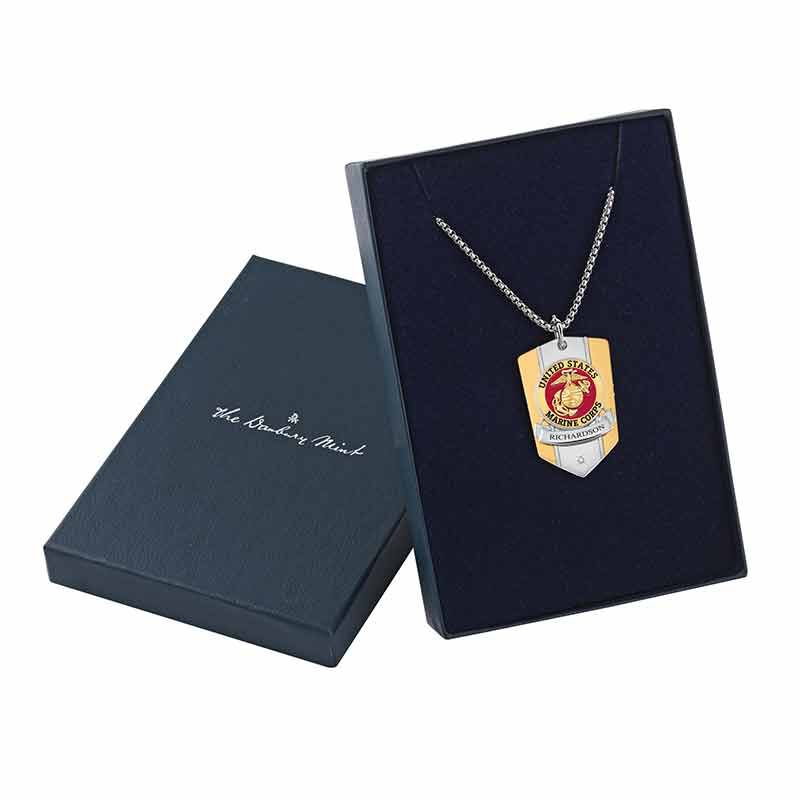 The Personalized Commemorative Marines Pendant 6220 003 5 4