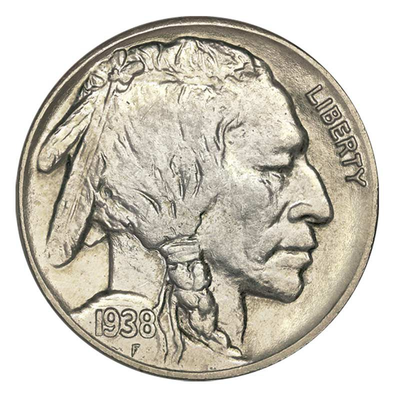 Uncirculated Buffalo Nickels 4348 001 1 2