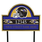 NFL Pride Personalized Address Plaques 5463 0405 a ravens