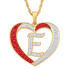 Personalized Diamond Initial Heart Pendant with FREE Poem Card 2300 0060 e initial