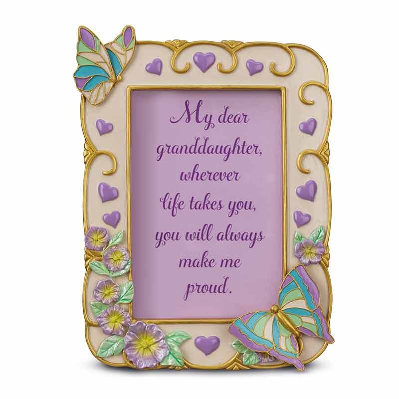 My Granddaughter Butterfly Photo Frame 6034 001 5 2