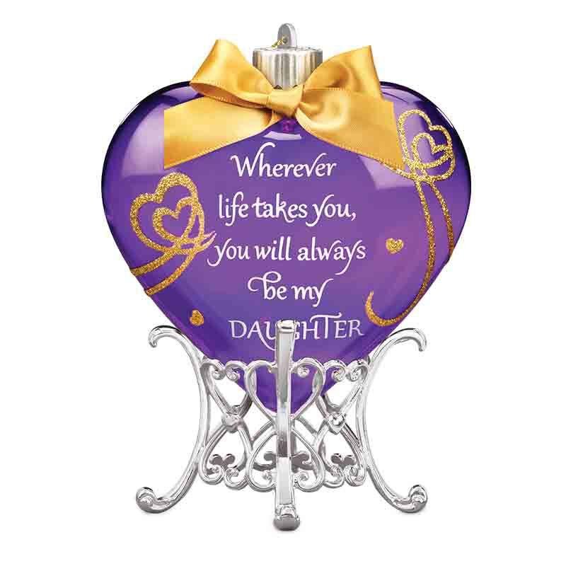 Always My Daughter Illuminated Keepsake Ornament 1915 001 0 1