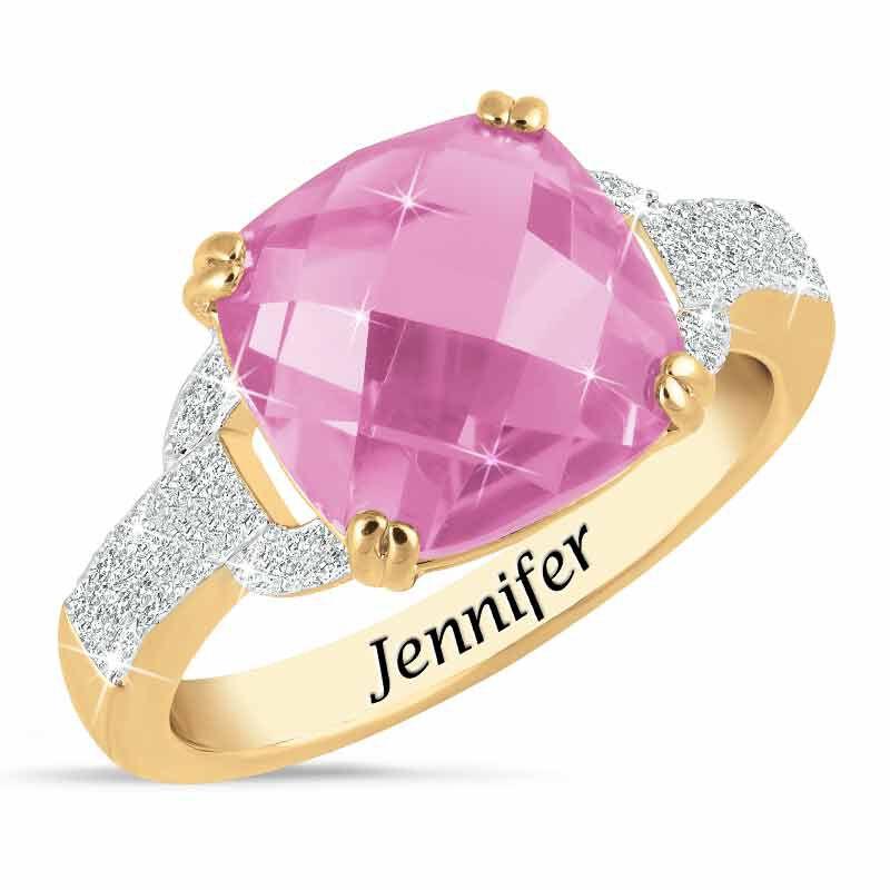 Birthstone  Diamond Ring 1159 001 5 10