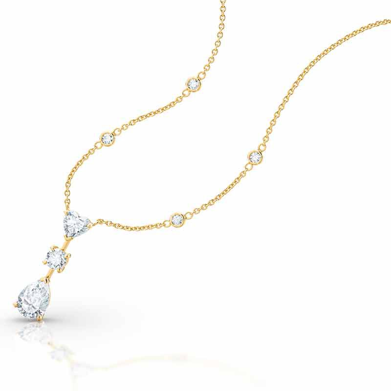 Drop of Love Diamonisse Pendant 6027 001 4 2
