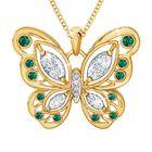 The Birthstone Butterfly Diamond Pendant 2030 001 8 5