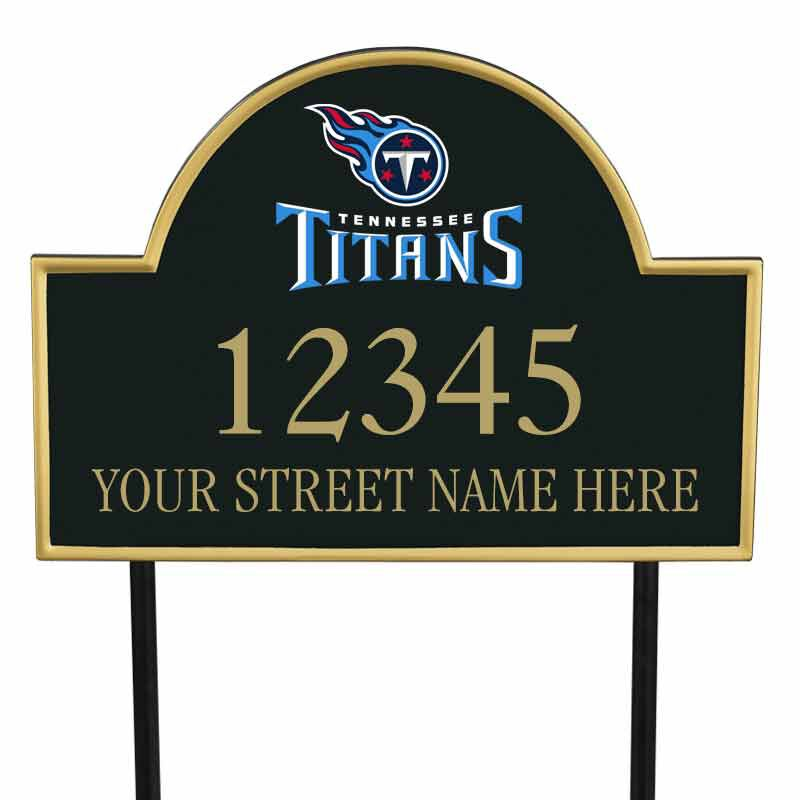 The NFL Personalized Address Plaque 5463 0355 z titans