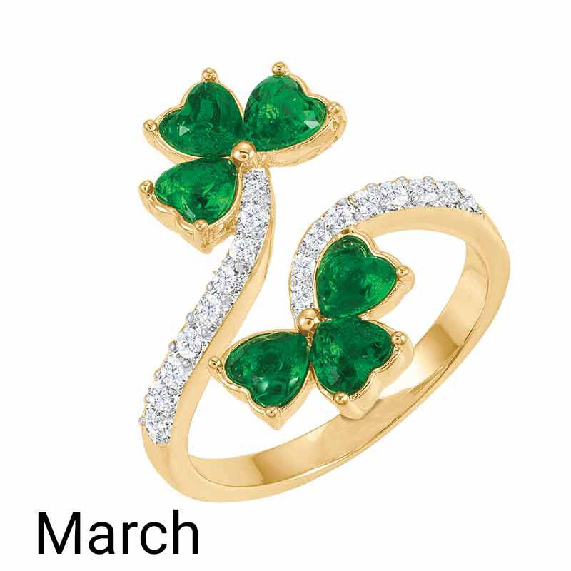 A Colorful Year Crystal Rings   Sizes 9 12 6115 004 1 3