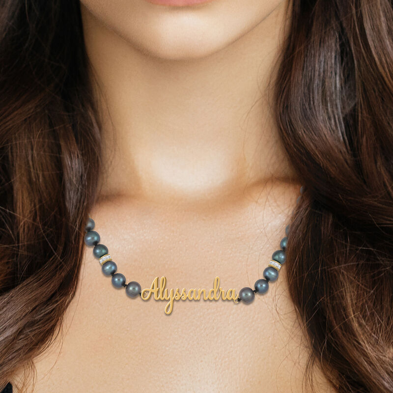 The Black Pearl Necklace 6921 0011 m model