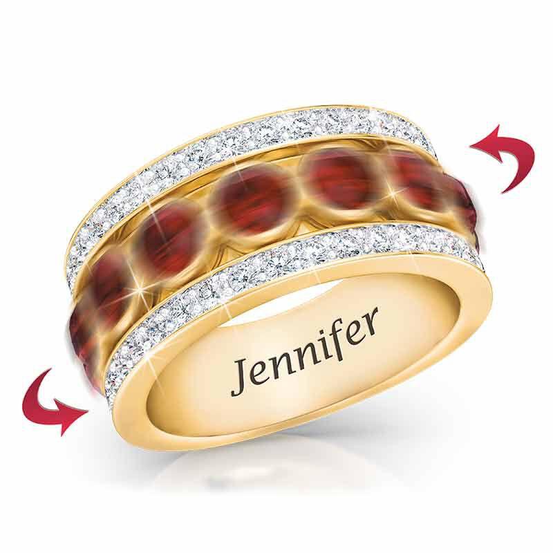 Birthstone Spinner Ring 1522 001 5 13