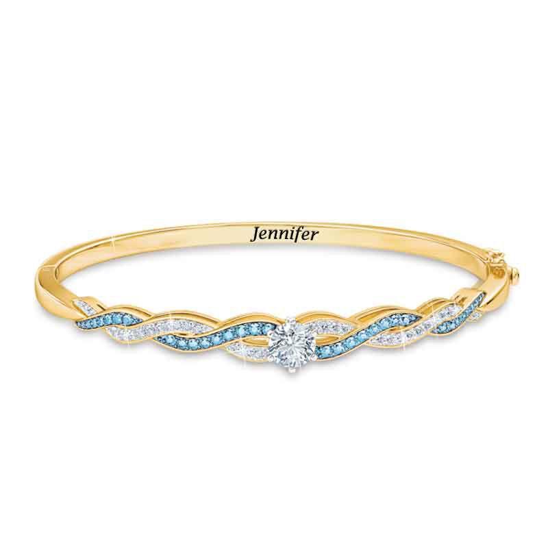 Birthstone Swirl Bracelet 5821 001 4 12