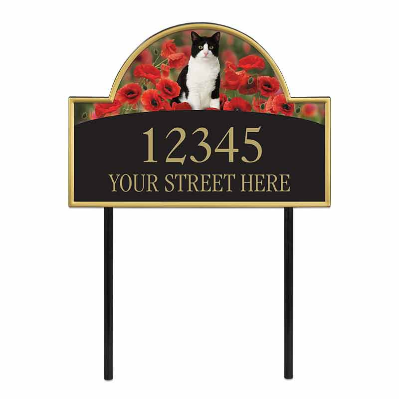The Captivating Kitties Address Plaque by Simon Mendez 1088 003 7 1