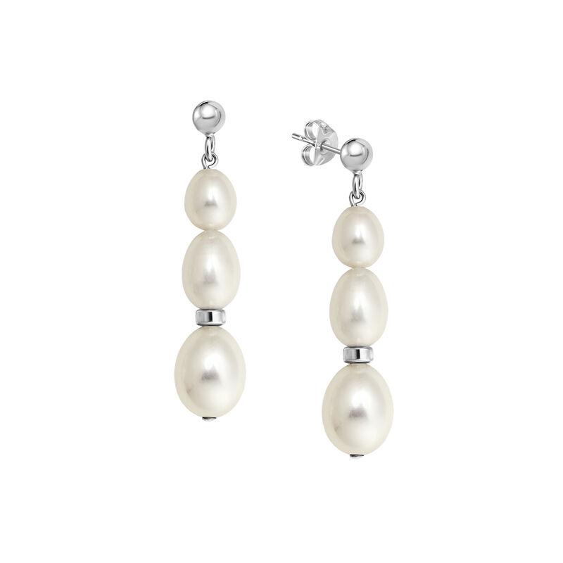 Sweet Harmony Cultured Pearl Bracelet and Earring Set 4982 0053 c earring