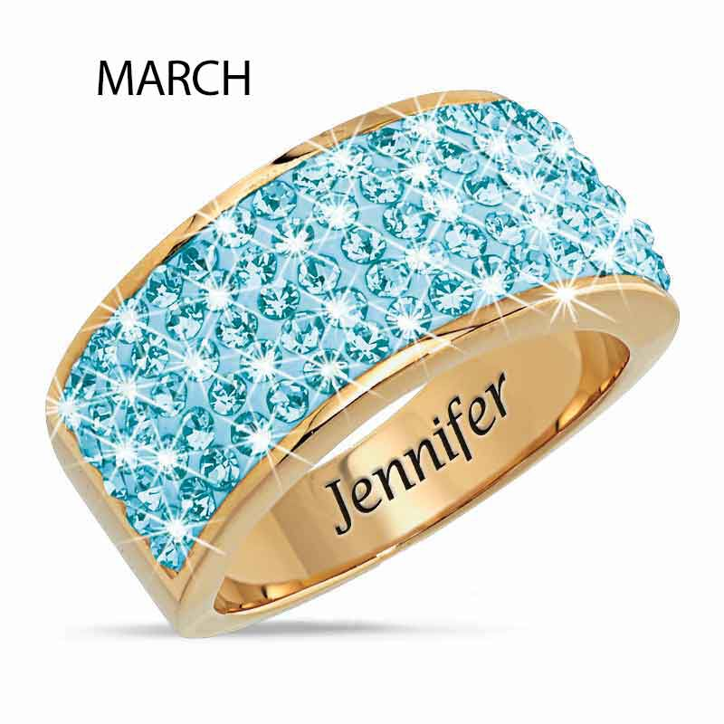 Personalized Birthstone Fire Ring 5806 002 1 4