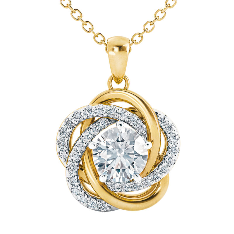 Perfectly Paired Love Knot Pendant 4922 0056 a main
