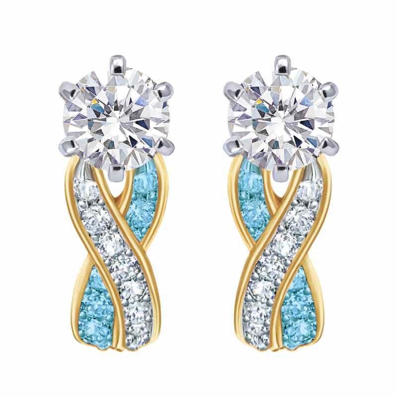 Birthstone Swirl Earrings 2647 001 3 3
