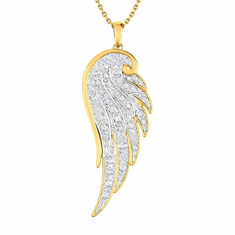My Angel Daughter Diamond Pendant 6253 001 9 1