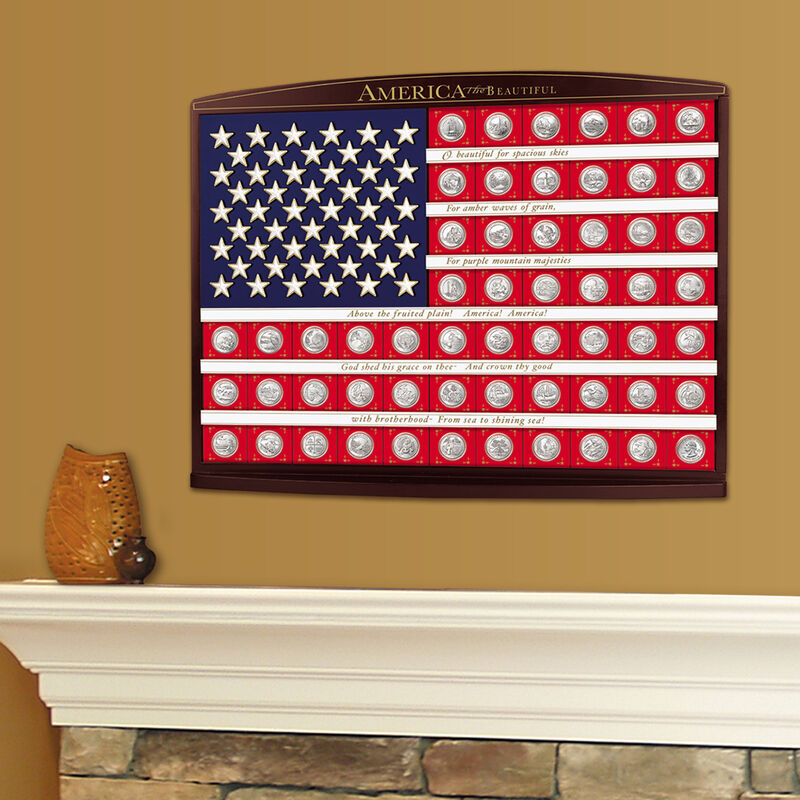 Land of the Free State Quarters Flag 5181 0059 m room