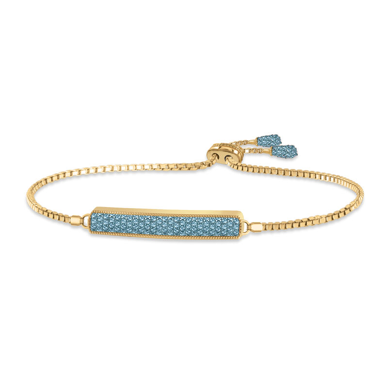 Birthstone Bolo Bracelet 6501 0027 l december