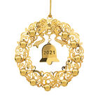 2021 Gold Christmas Ornament Collection 2798 0028 j wreath