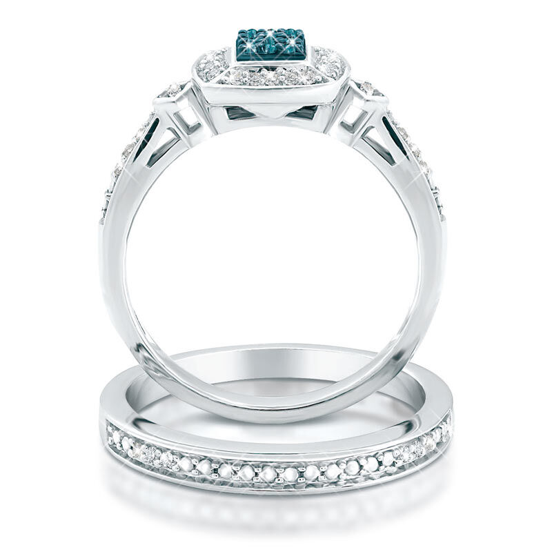 Blue Diamond Bridal Set 4729 001 0 3