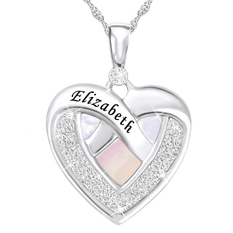 My Daughter Forever Personalized Diamond Pendant 5843 001 8 1
