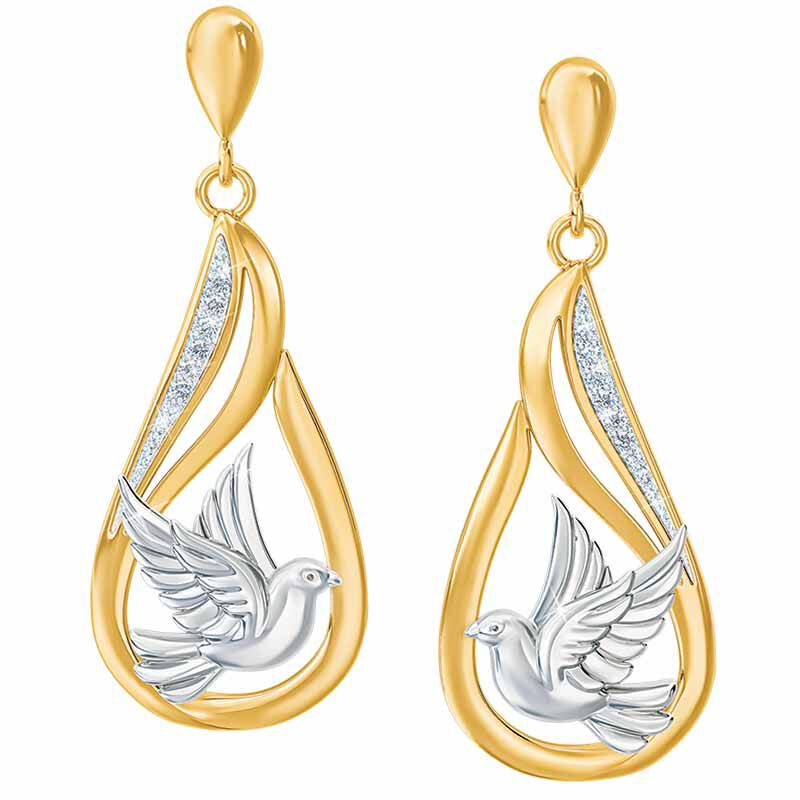 Peace Dove Diamond Earrings 5920 001 4 1