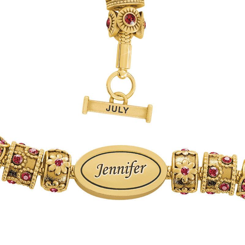 Beauty Personalized Charm Bracelet 2406 001 4 7