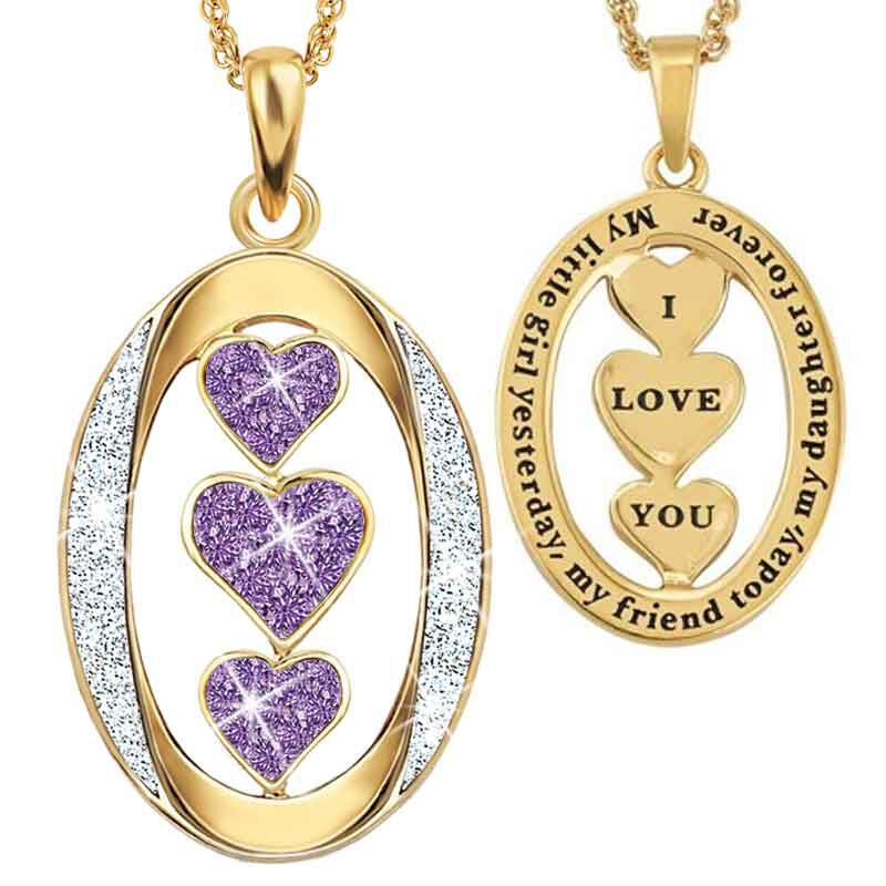 My Daughter I Love You Diamond Pendant 1136 001 3 2