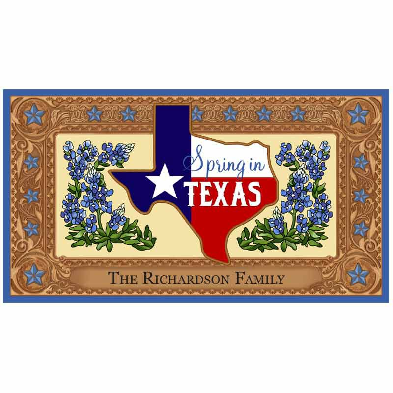 The Texas Seasonal Welcome Mats 6196 001 9 3