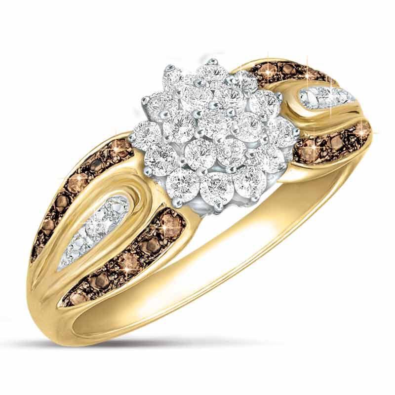 Mocha Radiance Diamond Ring 5058 001 8 1