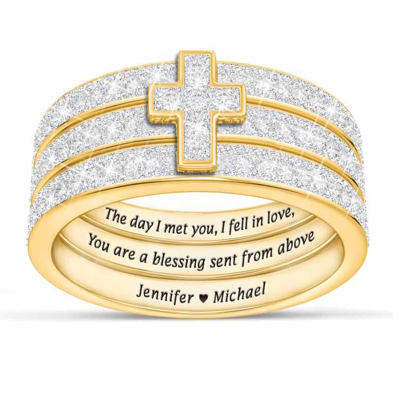 Blessed Love Stackable Diamond Ring Set 5279 001 1 1