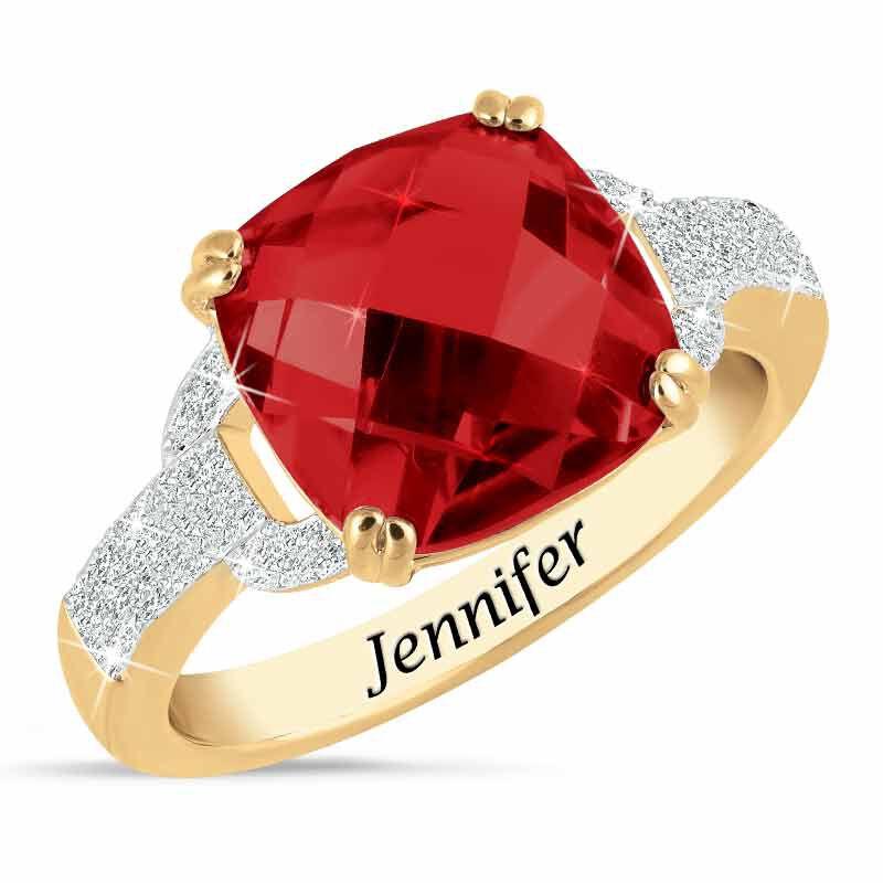 Birthstone  Diamond Ring 1159 001 5 1