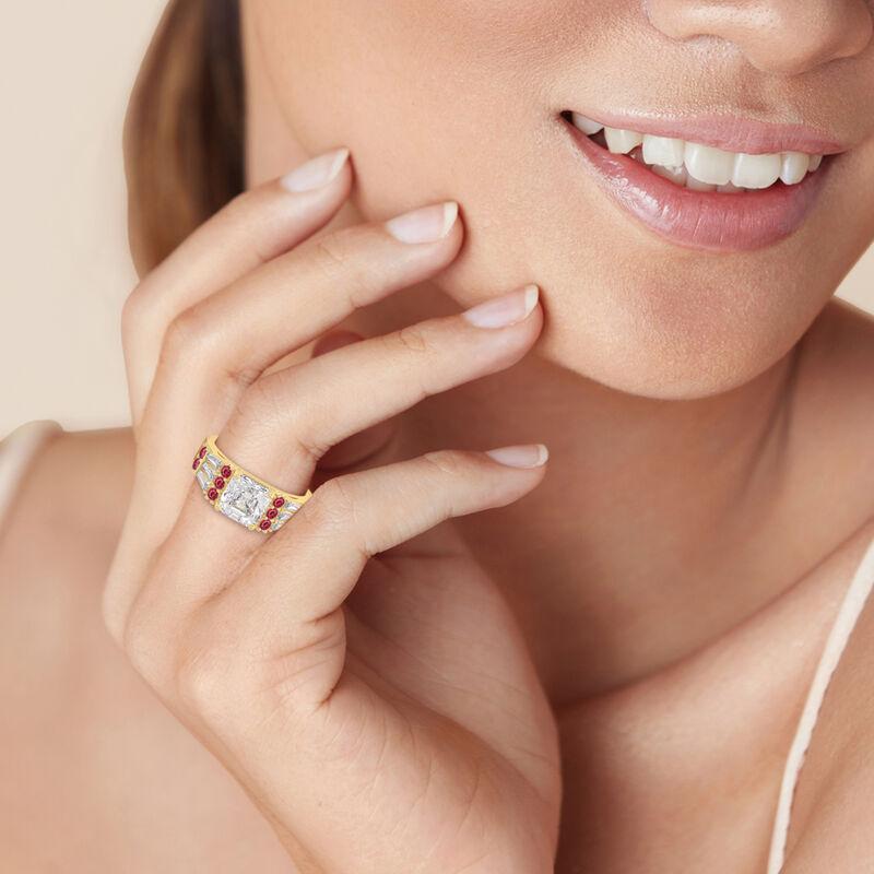 Birthstone Statement Ring 10142 0016 n model