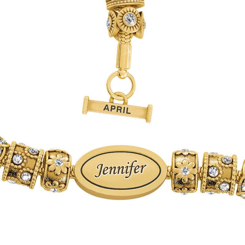 Beauty Personalized Charm Bracelet 2406 001 4 4