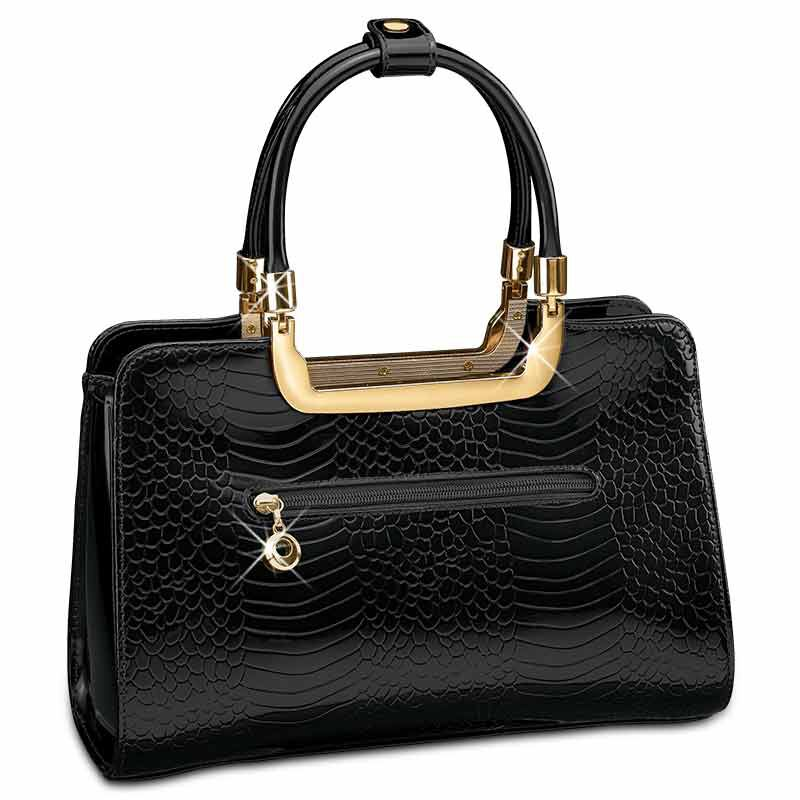 Midnight Spell Genuine Leather Handbag 5619 002 8 2