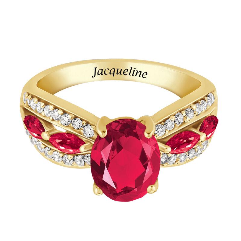 Ruby Red Ravishing Personalized Ring 10103 0021 b flat