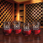 The Personalized Set of Four Wine Glasses 5675 001 a main