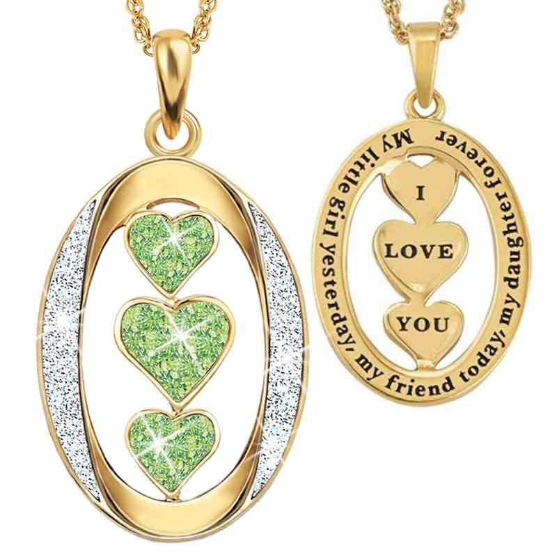 My Daughter I Love You Diamond Pendant 1136 001 3 8