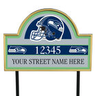 NFL Pride Personalized Address Plaques 5463 0405 a seahawks
