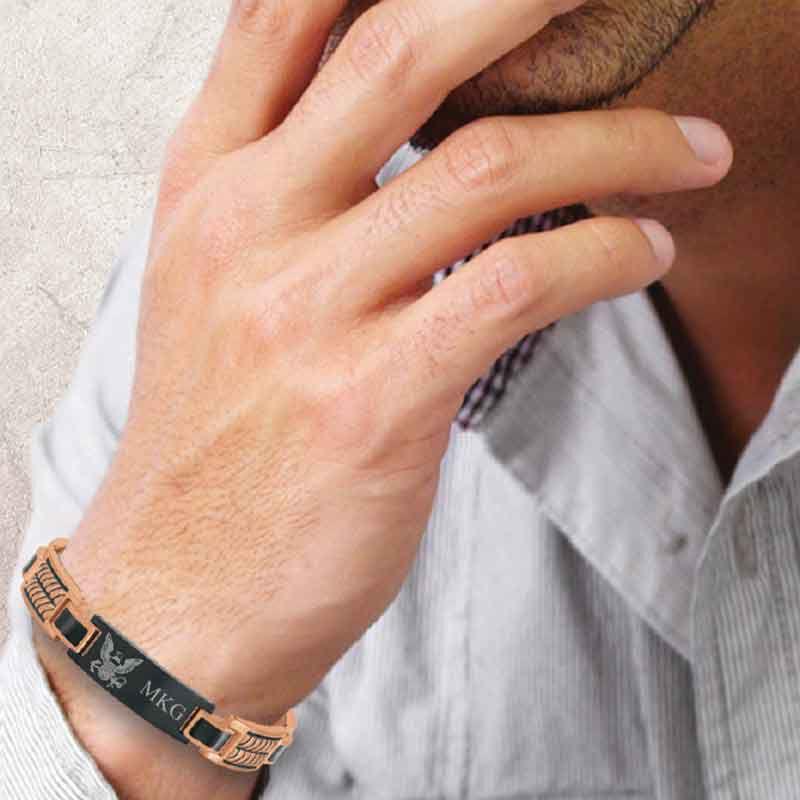 Honor Courage Commitment Copper Bracelet 1291 003 0 2