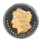The Ruthenium  24KT Gold Enhanced Morgan Silver Dollars 1798 001 2 2