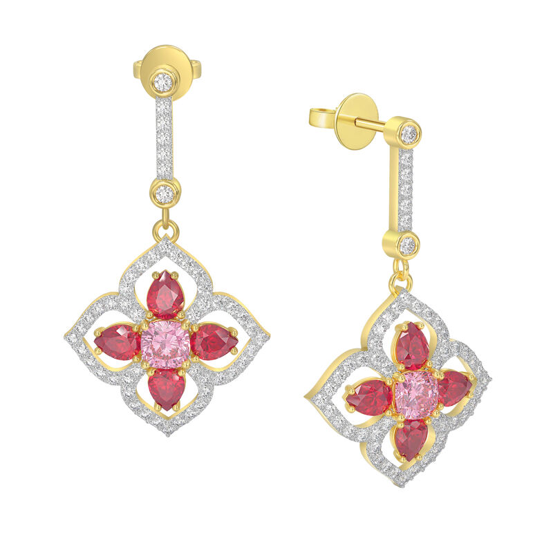 The Blossoming Beauty Earrings 6326 0012 a main