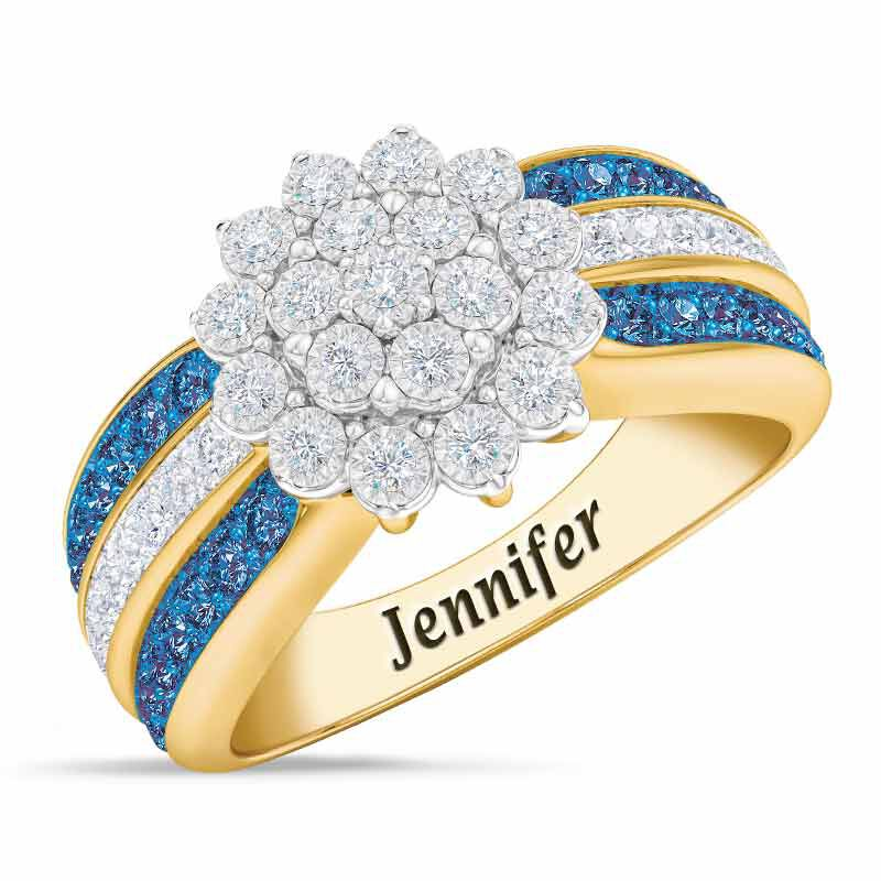Personalized Birthstone Radiance Ring 5687 003 3 9