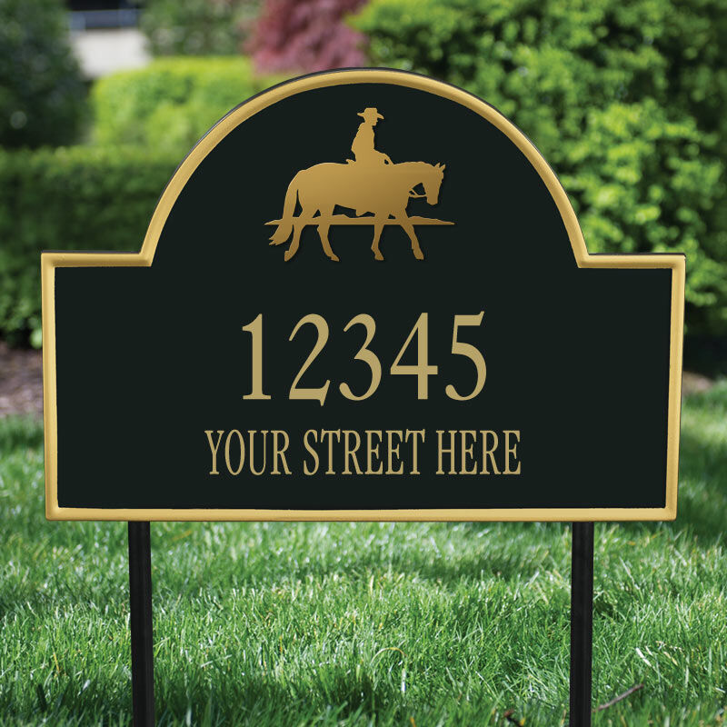 The Colorado Personalized Address Plaque 1073 006 7 2