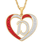 Personalized Diamond Initial Heart Pendant with FREE Poem Card 2300 0060 d initial