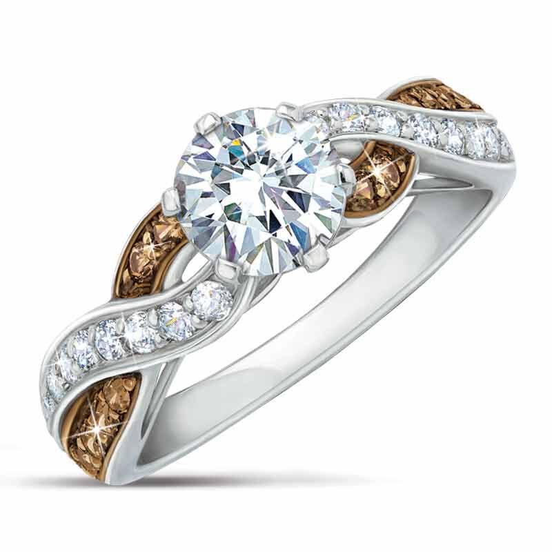 Mocha Swirl Diamonisse Ring 9624 004 9 1