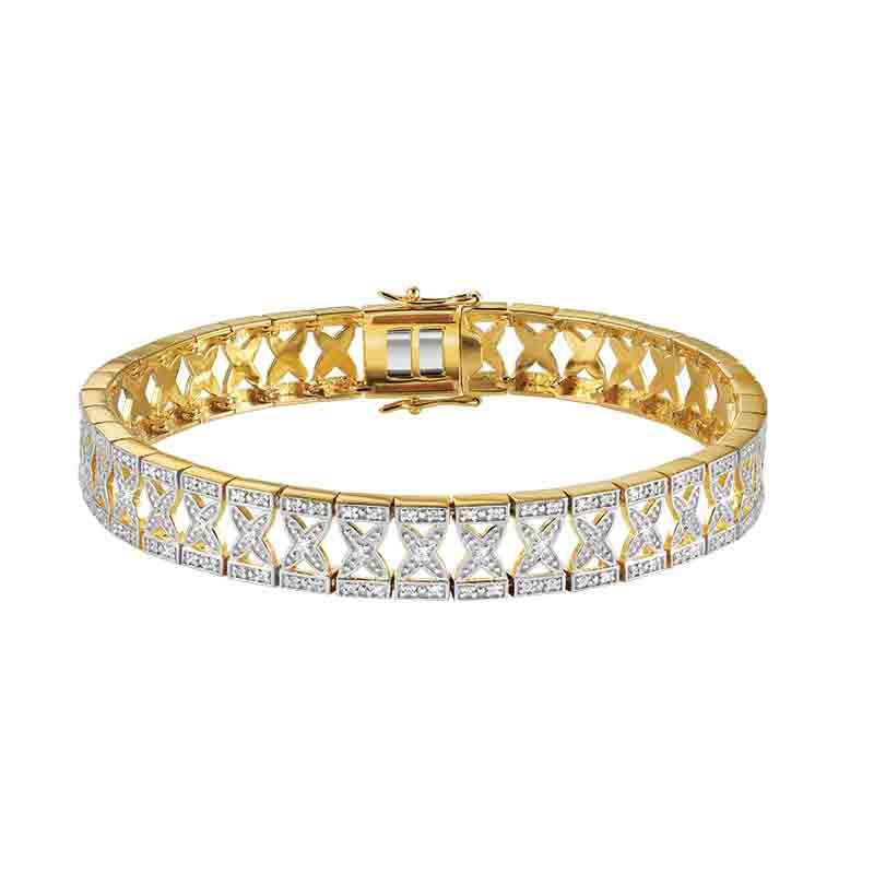 The Diamond Kiss Bracelet 4910 001 9 1