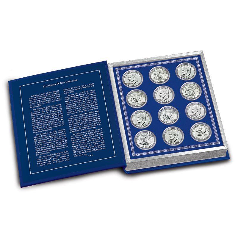 Eisenhower Dollars Collection 4811 002 7 3