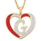 Personalized Diamond Initial Heart Pendant with FREE Poem Card 2300 0060 g initial