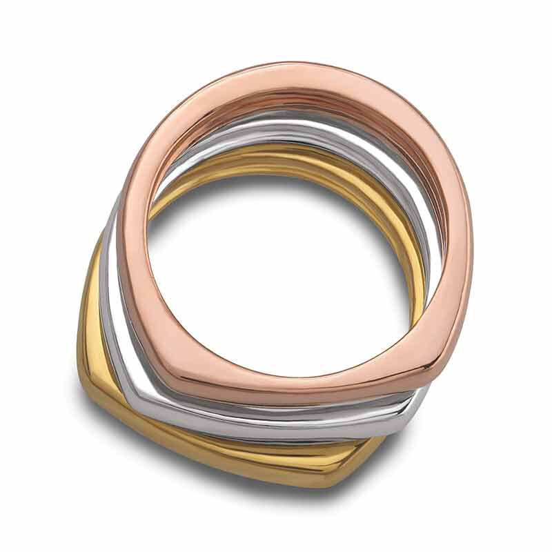 The Copper Trio Stackable Ring Set 4911 001 8 3